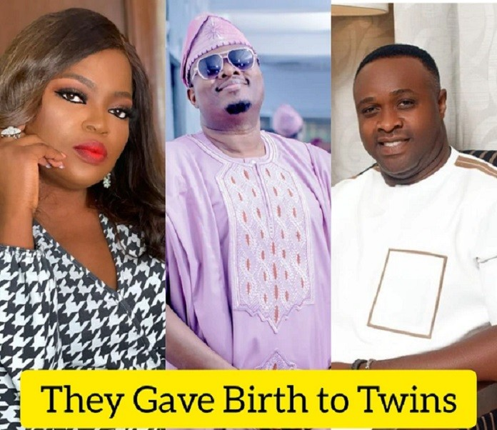 Asides Funke Akindele, See Other Yoruba Nollywood Stars Who Gave Birth to Twins And Pictures of their Twins (Photos)