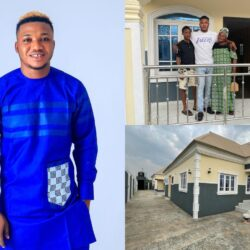 Congratulations Are In Order For Yoruba Actor, Temitope Iledo As He Gifted His Mother A New House (Video)