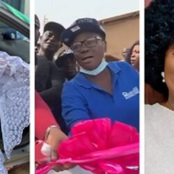 Congratulations Are In Order For Veteran Yoruba Actress Mama Rainbow As She Was Gifted A Brand New Car (Video)