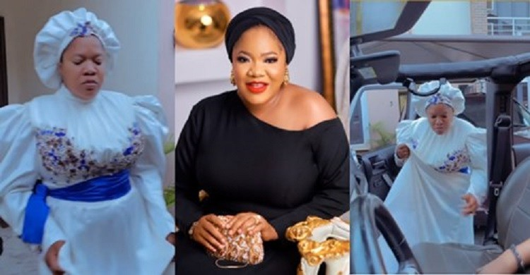 You're always exceptional' – Fans react to Toyin Abraham's grand entry to  the movie premiere of 'The Prophetess' (video) – KNOWLEDGEBASENG