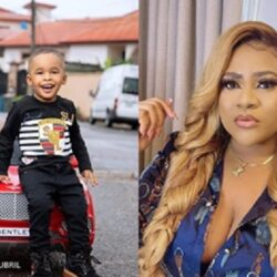 Nkechi Blessing Gushes Over Her Son As She Shares Adorable Pictures Of Him