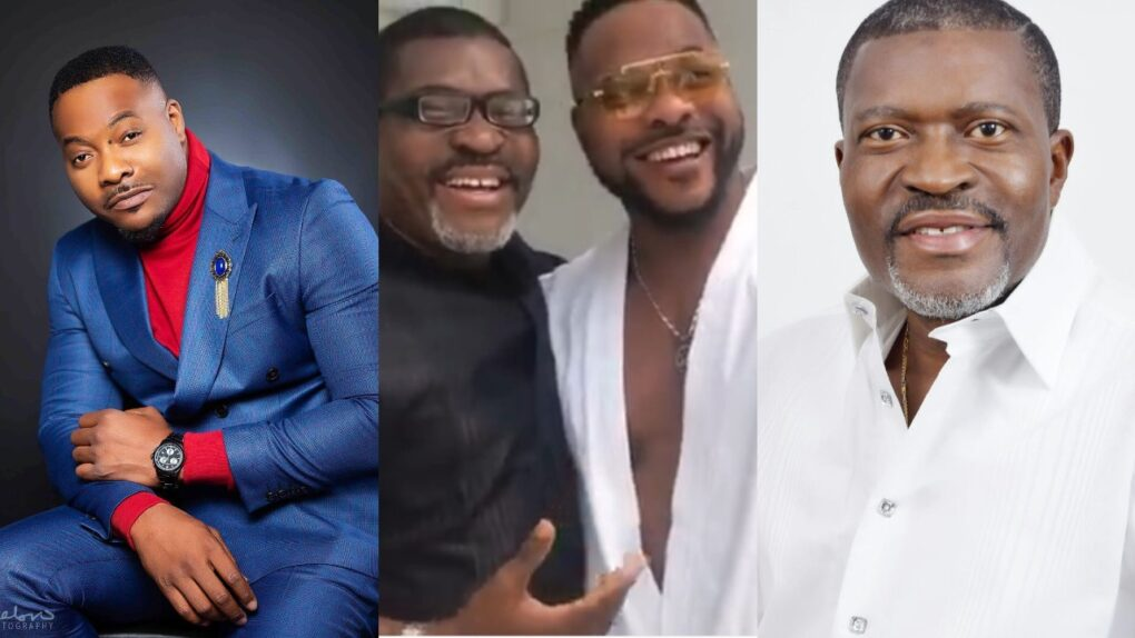 """There is nothing as sweet as being humble"" – Fans React As Video Of Bolanle Ninalowo Prostrating Fully To Greet Kanayo O Kanayo Surfaces"