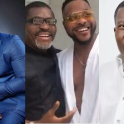 """""""There is nothing as sweet as being humble"""" – Fans React As Video Of Bolanle Ninalowo Prostrating Fully To Greet Kanayo O Kanayo Surfaces"""