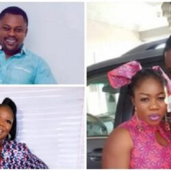 Yoruba Actor Eniola Afeez Reveals how he met his wife, Esther Kalejaye-Eniola and Why He Stopped His Wife From Dancing For Fuji Musicians (VIDEO)