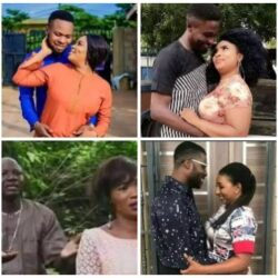 Odunlade and Eniola Ajao, Mide Martins with Adeniyi Johnson, Femi Adebayo – See pictures of yoruba actors who acted as couple in Movies. Which of them do you like the most?? (PICS)