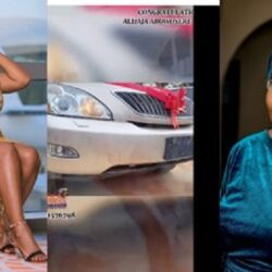 Yoruba Actress Tawa Ajisefinni Shares Emotional Message As She Surprises Her Mother With A New Car For Her Birthday Gift (Video)