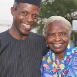 How I still scold my son despite being Vice President – Osinbajo's mum