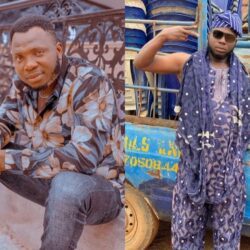 How i started Comedy: Meet Comic Actor Yemi Elesho's Father Who Is A Veteran Nollywood Actor(Photos)