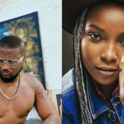 Peter Okoye Celebrates The Bravest Woman On Earth DJ Switch As She Turns A Year Older