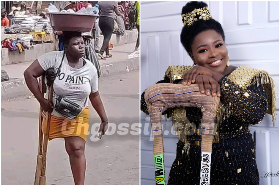 Pure Water Seller With One Leg Gets A Total Makeover From Celebrity Stylist On Her Birthday – Photos