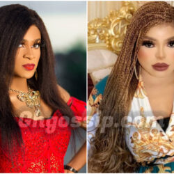 """""""This English Is Hard For Bob To Understand"""" – Social Media Users Troll Bobrisky Over Deevaah's Post"""