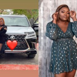 Congratulations Are In Order For Nollywood Actress Funke Akindele Has She Aquires A New Car