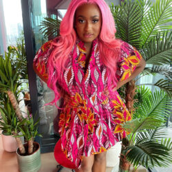 DJ Cuppy reacts after a follower said she has 'all the money in the world' but doesn't know how to dress