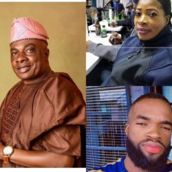 Checkout Lovely Photos of Yoruba Actor Olaiya Igwe And His Wife And Children