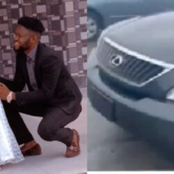 Yoruba Actor Jamiu Azeez Buys A brand New Car For Aunty Ramota (video)