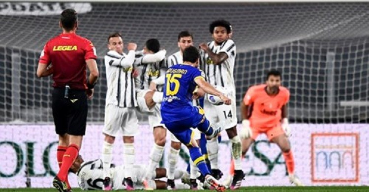Ronaldo set for free-kick ban at Juventus