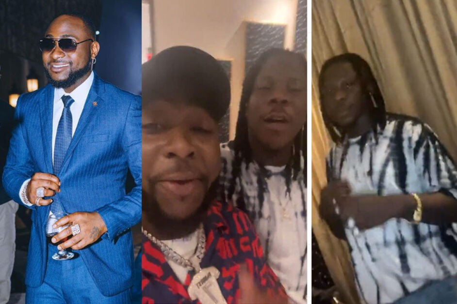 Stonebwoy Links Up With Davido In Lagos As He Jubilates Over 20 Instagram Followers [VIDEO]