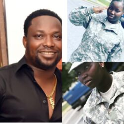Oshe Omobanke's Daughter Who's A US Soldier Celebrates 18th Birthday Today