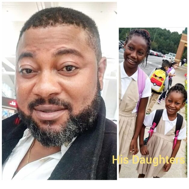 Meet Famous Yoruba Actor Kunle Adegbite And His Beautiful Daughters (Photos)