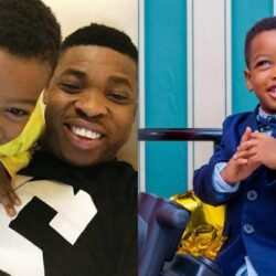 Meet the Handsome Baby of Wole Agba As He celebrates His 3rd year birthday In Style (Photos)