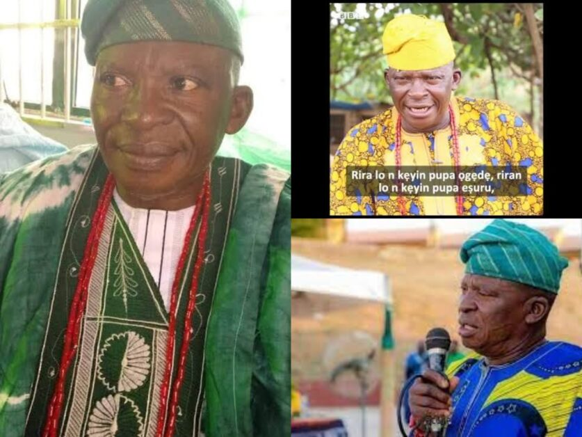 Veteran Yoruba Actor Chief Adedeji Aderemi 'Olofa Ina' Clock 71