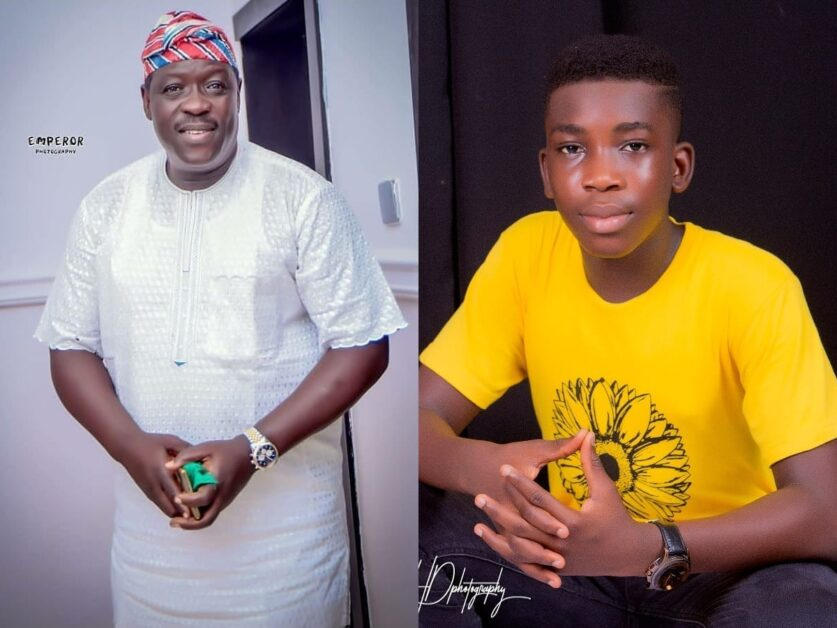'A true gift from heaven to me' – Veteran Yoruba Actor Taiwo Hassan 'Ogogo' Says As He celebrates His Son's Birthday (Photos)
