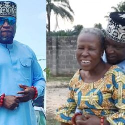 Watch the Emotional Moment Actor Femi Branch Embraced His Mother, After Seeing Her in a While