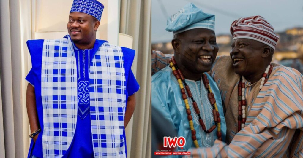 Reactions As Popular Actor, Muyiwa Ademola, Showers Encomiums On Veterans, Olofaina And Aderupoko