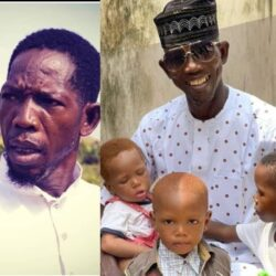 Help me Bless them with Your Pray, Actor Dejo Tunfulu said as he shared the picture of his Grandchildren