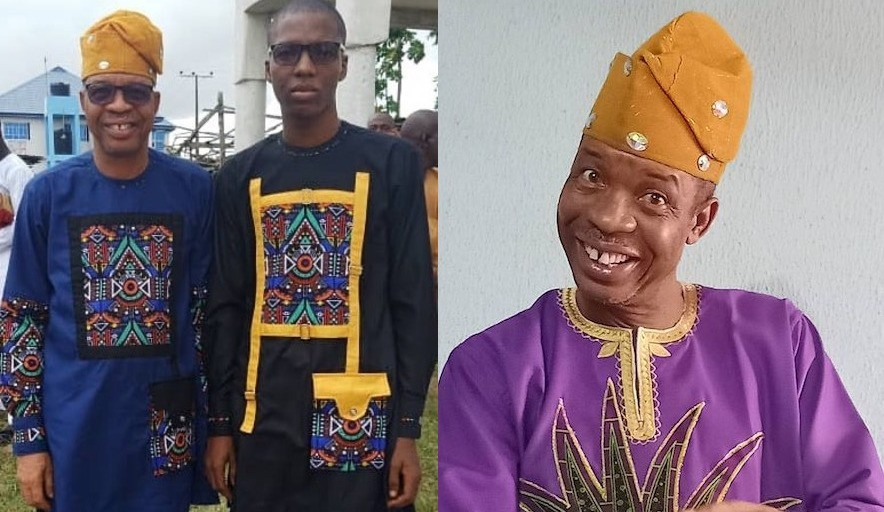 Veteran Actor Saka Steps Out With his Son Who is A Fashion Designer