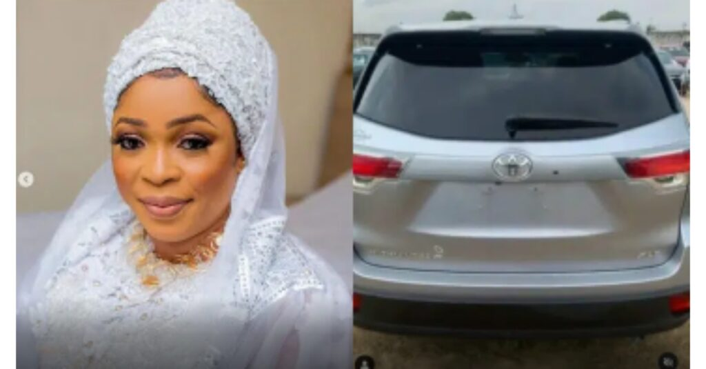 Congratulations Are In Order For Yoruba Actress,Kemi Afolabi has she Acquires A Brand New Car (video)