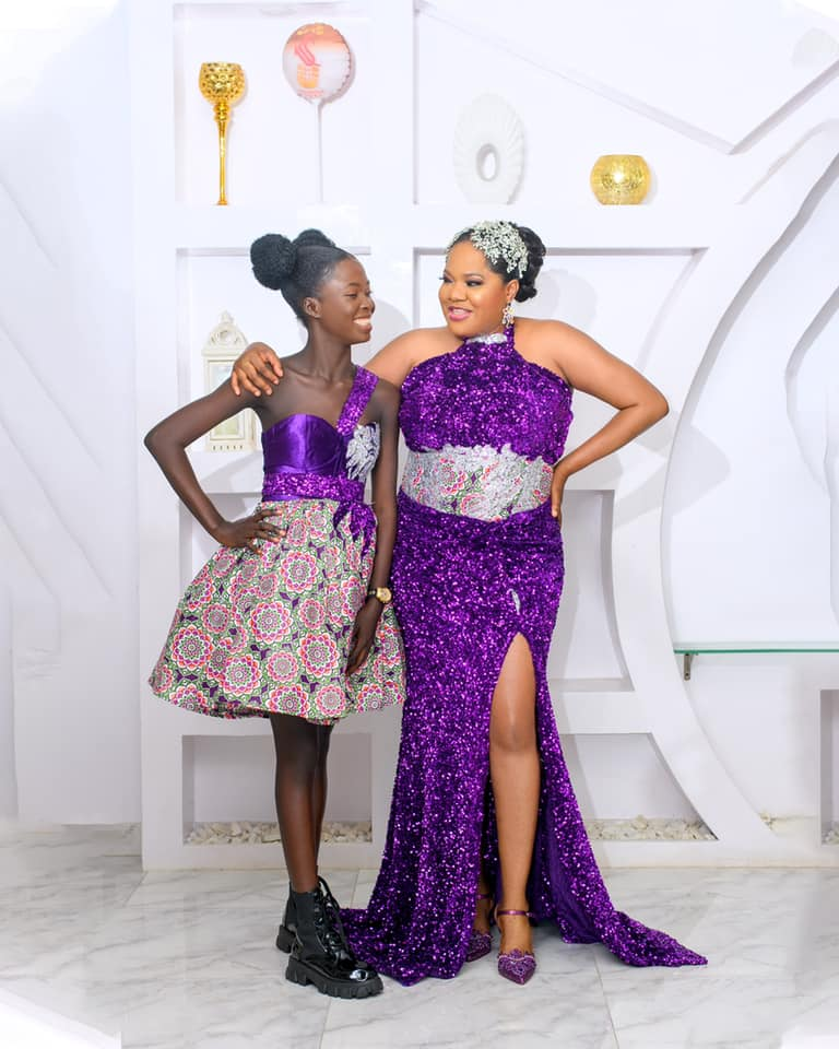 I'm grateful to God for blessing me with a beautiful, smart , caring and intelligent daughter- Toyin Abraham Celebrates Her step Daughter's Birthday