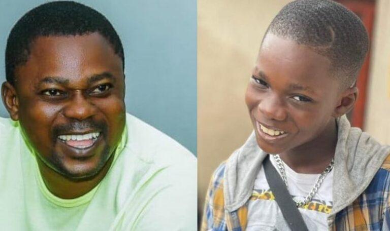 Meet Dotun, The Look Alike Son of Actor Eniola Afeez