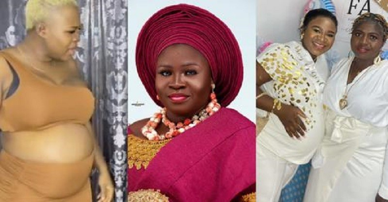 Fans Pray For Safe Delivery To Yoruba Actress, Olaide Oyedeji As She Shares Her Baby Shower Pictures