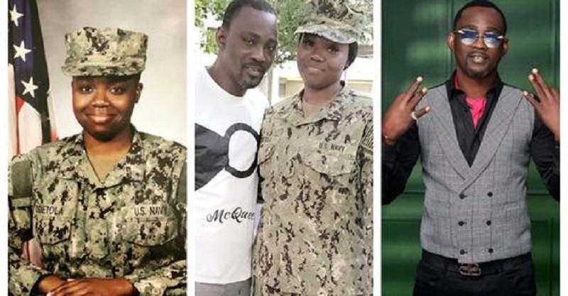 Beautiful Pictures and Video as Pasuma visits his daughter who is a Naval officer in US Navy at her base in California