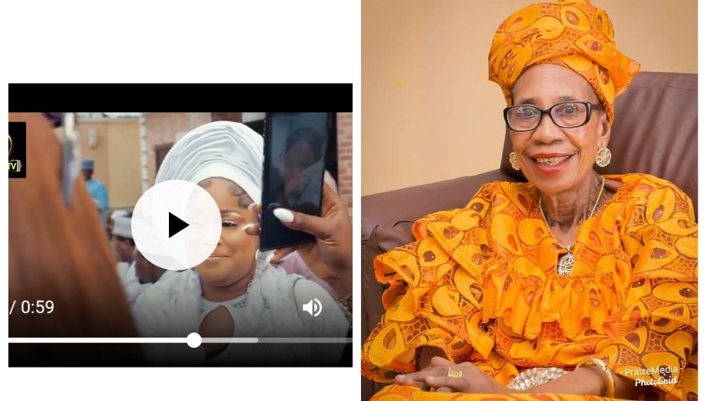 """""""Rest in Peace Maami"""" – Actress Sikiratu Sindodo Cries at 8days Firdau Prayer For Her Late Mother (Video)"""