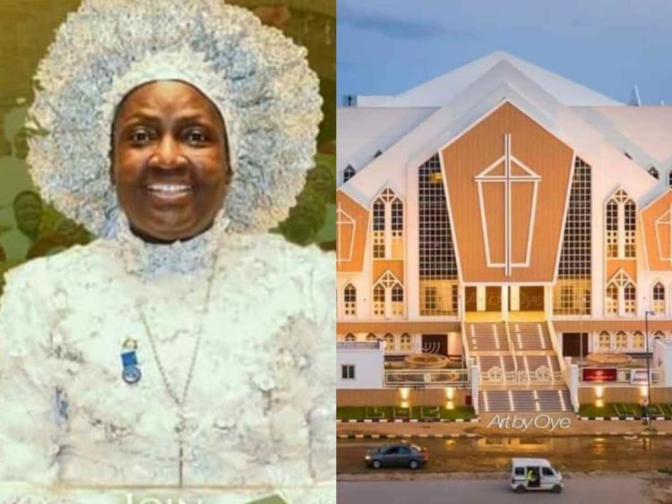 Photos and Videos from Rev. Esther Ajayi's Cathedral Opening Ceremony
