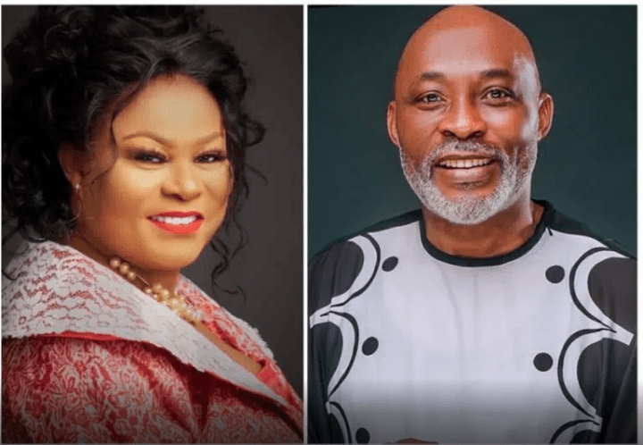 Actor RMD sparks reactions after saying he's yet to kiss Sola Sobowale despite 37 years of acting together