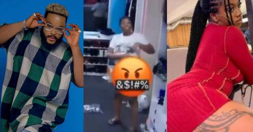 """""""She is a marketer"""" – WhiteMoney reacts after Angel flaunted her T0t0(Video)"""