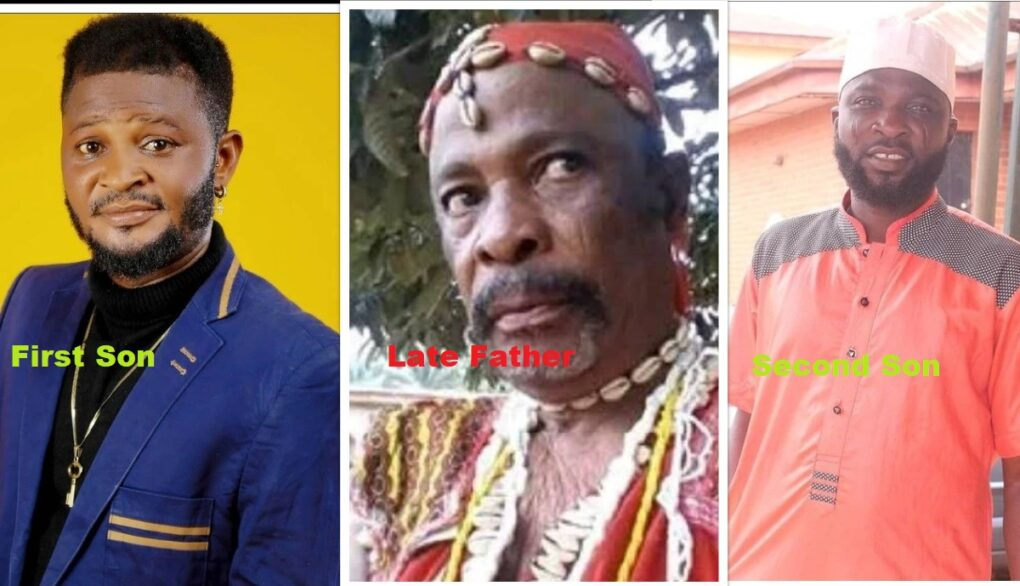 Reaction As  Late Yoruba Legend,Dagunro's Second Son joins His Brother to Continue The Legacy Of The Veteran After Death