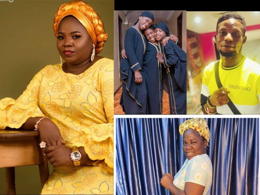 Meet Yoruba Actress Rukayat Lawal A.K.A Iya Ibadan Sneh, Movies And Her Lovely Children