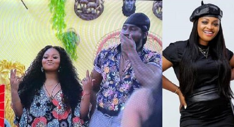 #BBNaija: Married woman, Tega sent back to her husband's house as she's evicted from the Big Brother house