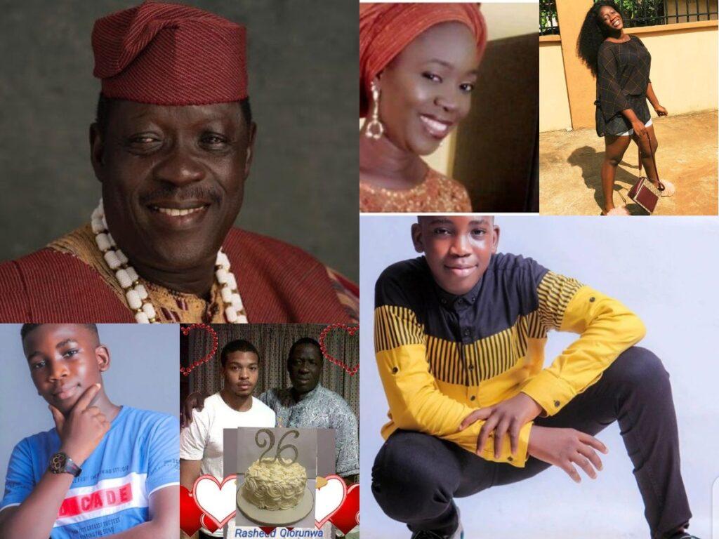 Meet Alhaji Taiwo Hassan Ogogo 6 Children