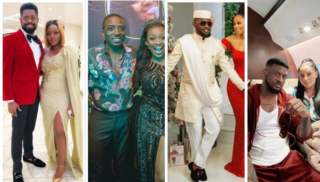 Meet the beautiful wives of some of your 10 favourite Nigerian celebrities