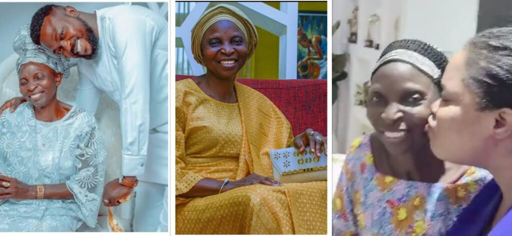 Meet Toyin Abraham Mother inlaw as She celebrates Her Birthday Today